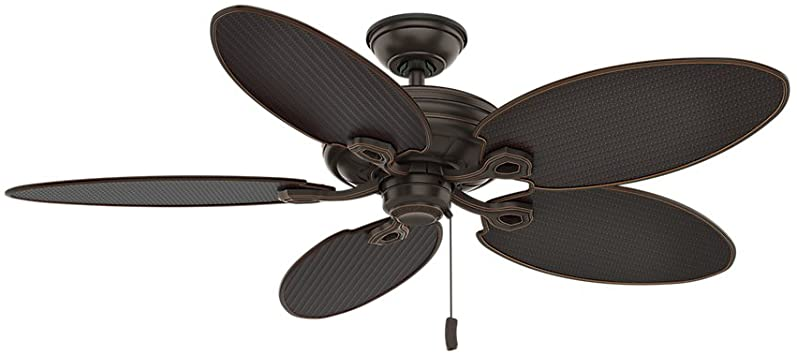 Casablanca Indoor / Outdoor Ceiling Fan, with pull chain control .