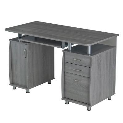 Wood - Gray - Computer Desk - Desks - Home Office Furniture - The .