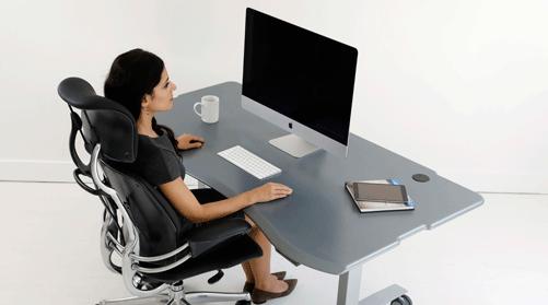 Height-Adjustable Desks, Radiology Standing Workstation Desks .