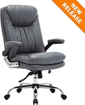 Amazon.com: B2C2B High Back Ergonomic Home Office Chair - Leather .
