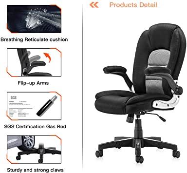 Amazon.com : SP Mesh Office Chair Adjustable Tilt Angle and Flip .