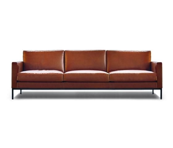 Florence Knoll Lounge 3 seat sofa | Architon