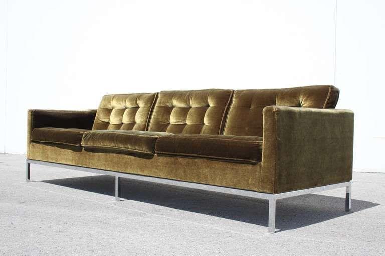 Florence Knoll Sofa | Florence knoll sofa, Knoll sofa, Florence kno