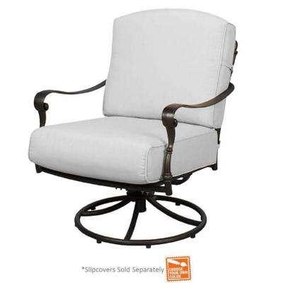 Edington - Hampton Bay - Outdoor Lounge Chairs - Patio Chairs .