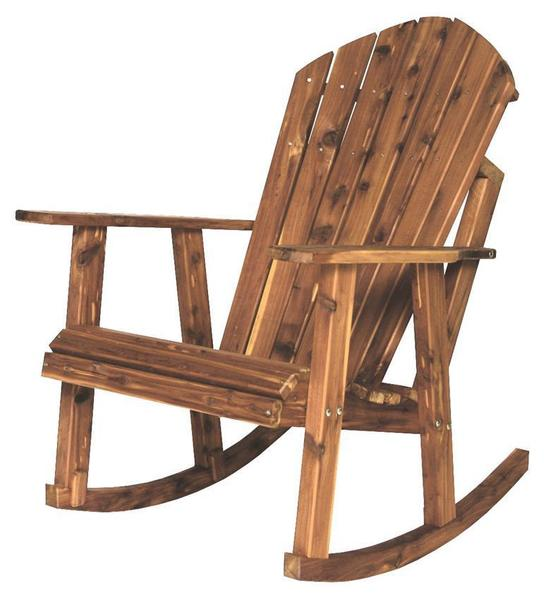 Cedar Adirondack Porch Rocking Chair from DutchCrafters Ami
