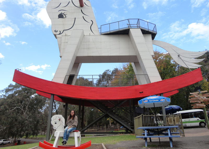 The Big Rocking Horse & The Toy Facto