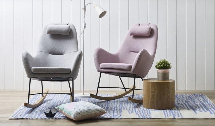 Merlin rocking chair | Rocking chair, Value furniture, Cha