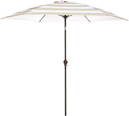 Amazon.com : AmazonBasics JC013 Patio Umbrella-9-Foot, Striped .