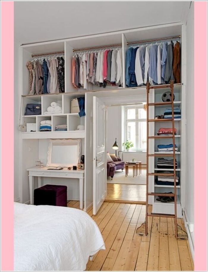... 50+ clever storage ideas for bedrooms ... NDIOXJB