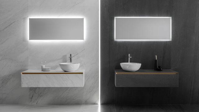 ... bathroom furniture tile · xlight lush white · xlight Aged dark IOJEGNO