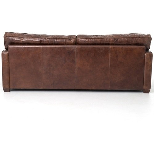 ... leather sofa in used look;  larkin 3-seater vintage leather sofa ... VOUTOST