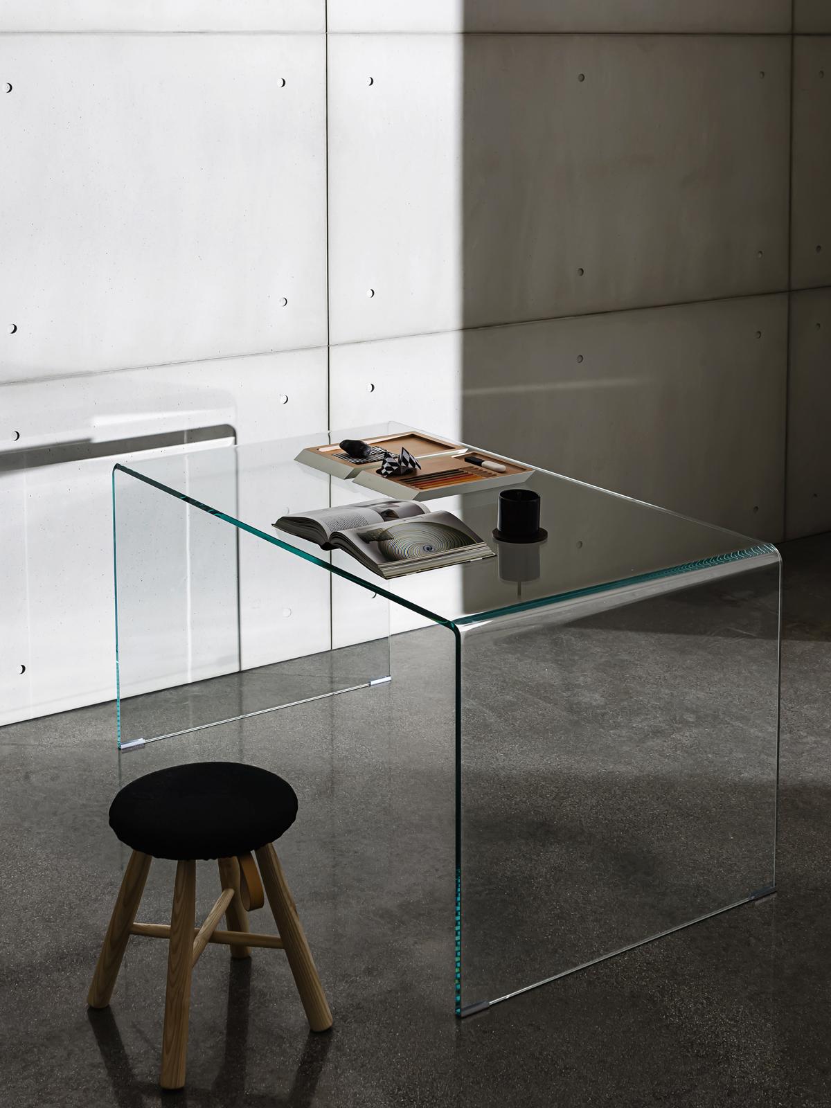 ... glass desk ... XUXKFYV