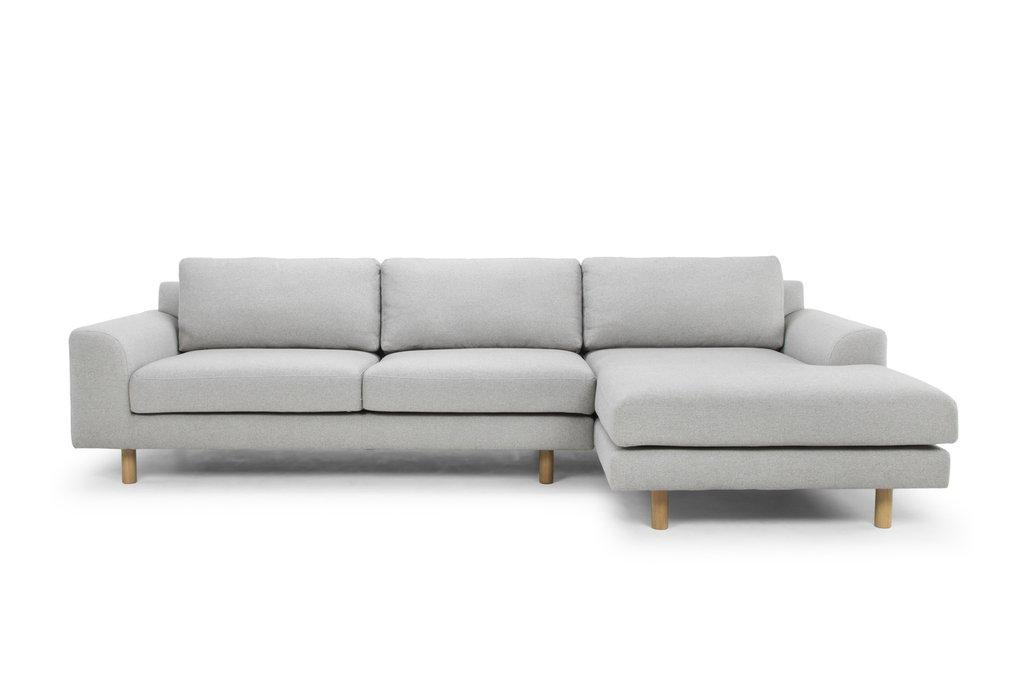 ... Masters modular sofa light gray right chaise longue ... PDSBFXO