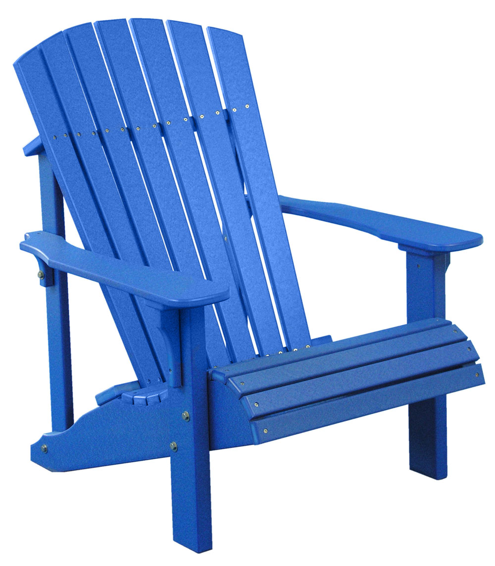 ... picture of Luxcraft Poly Deluxe Adirondack chair ... IUXYSAD