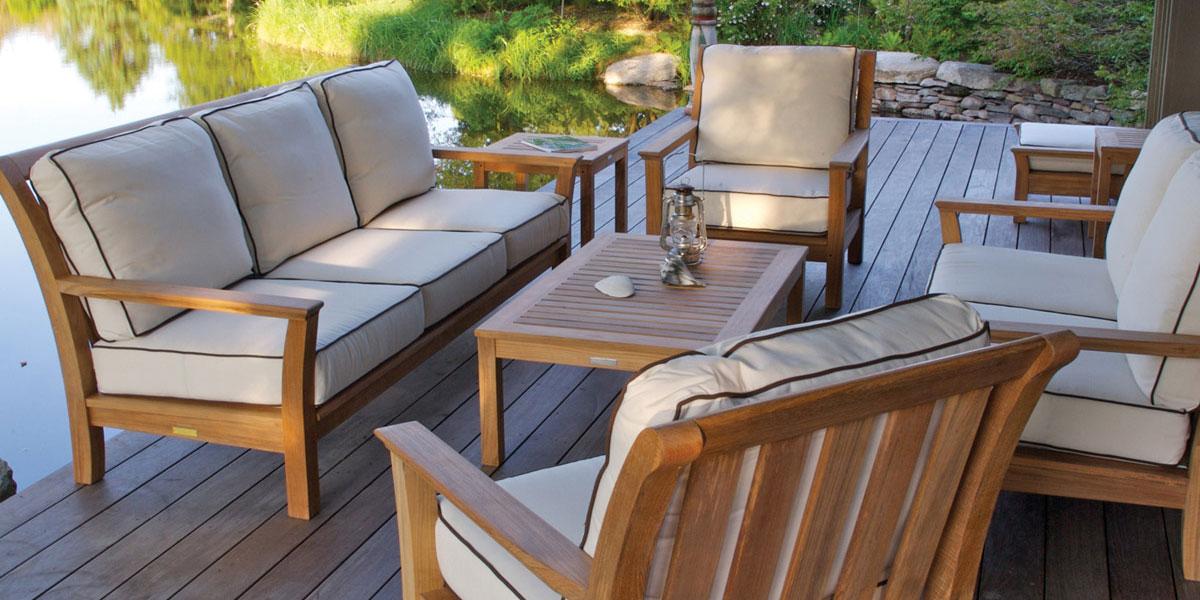 ... stylish garden furniture made of teak garden furniture made of teak terrace DWIOJTF