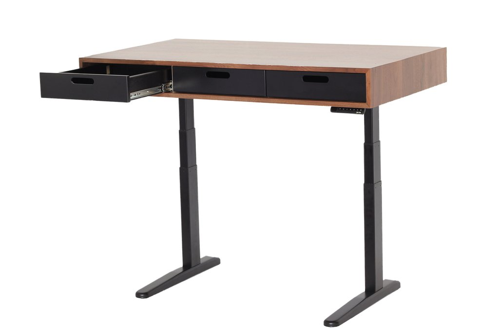 ... the evolution - electrically adjustable standing desk - Mid-Century Modern HHINECU
