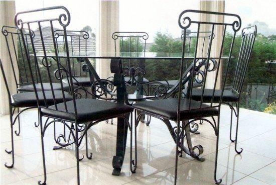 ... wrought iron furniture indoors ridgie didge smithing melbourne wrought iron JDFOTDO