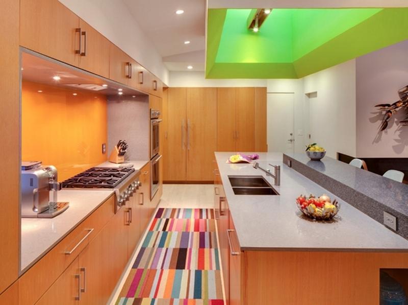 10 modern kitchen rugs ideas MCDWDAW