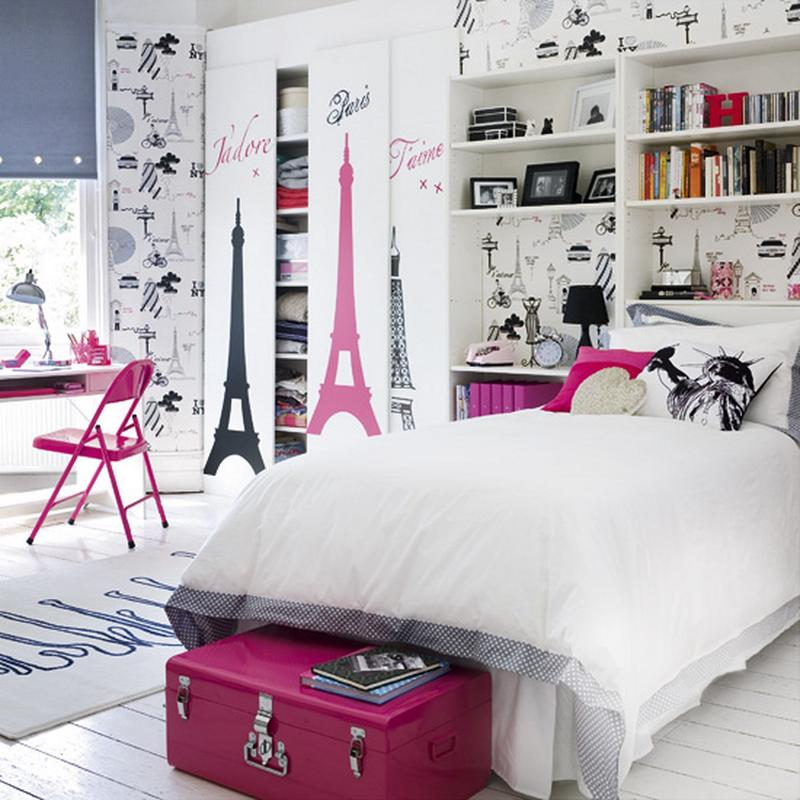 15 French-inspired bedrooms for girls OUZWPDJ