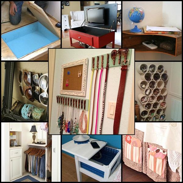 15 ingenious storage ideas for bedrooms VGTFXVZ