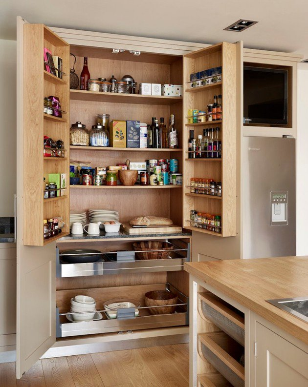15 practical kitchen pantry designs with plenty of storage space DUOFRLI