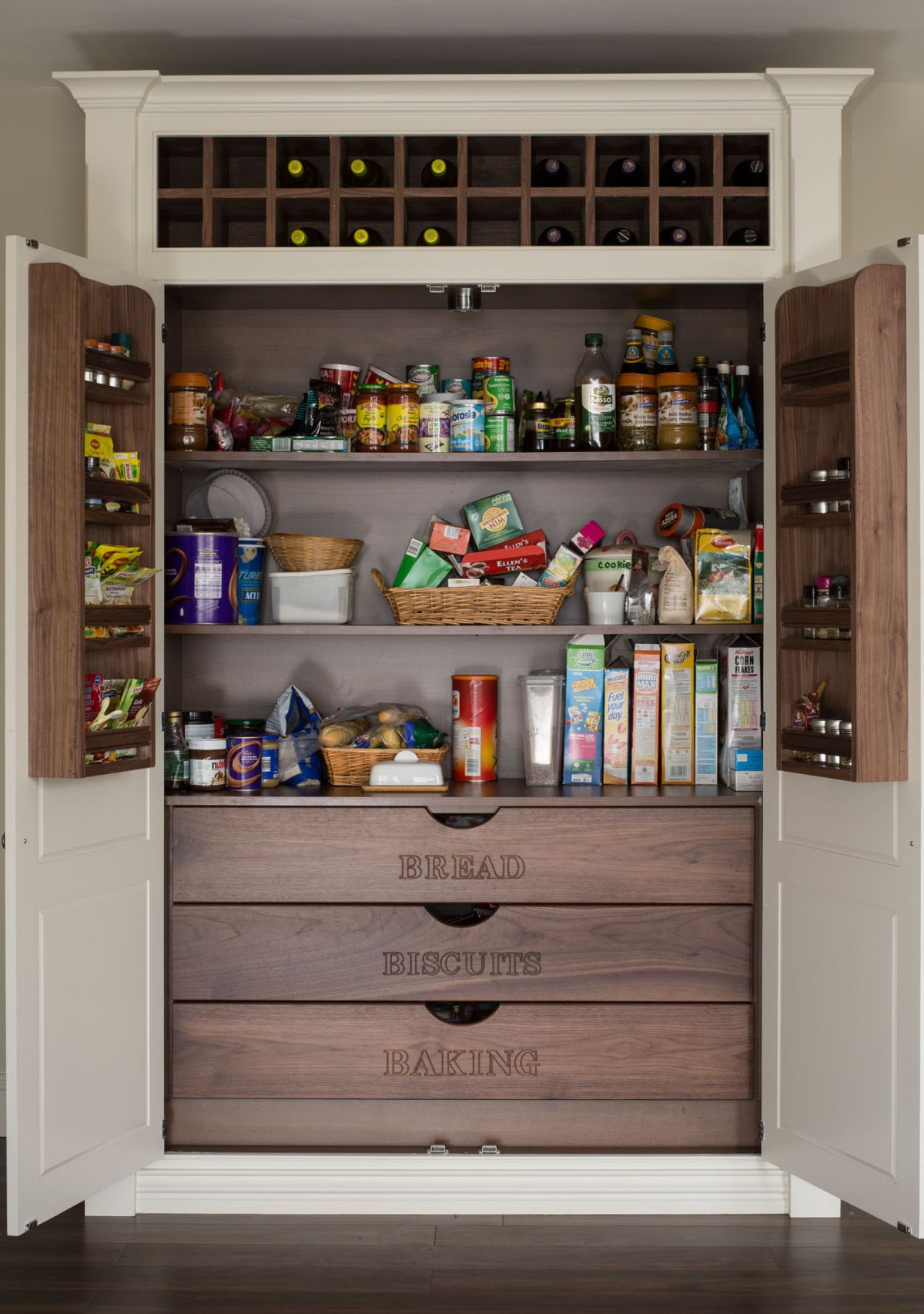 15 kitchen pantry ideas with form and function DDXCLIY