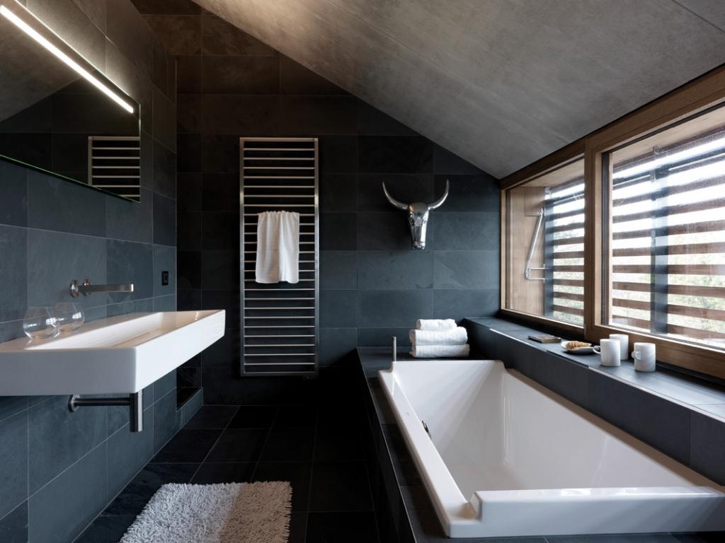 Wealthy bathroom heating
