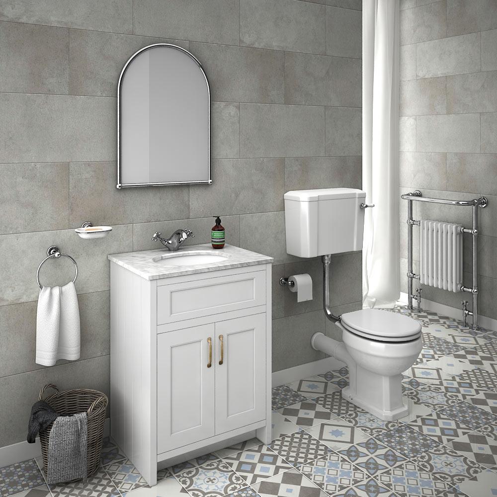 Exceptional bathroom floor