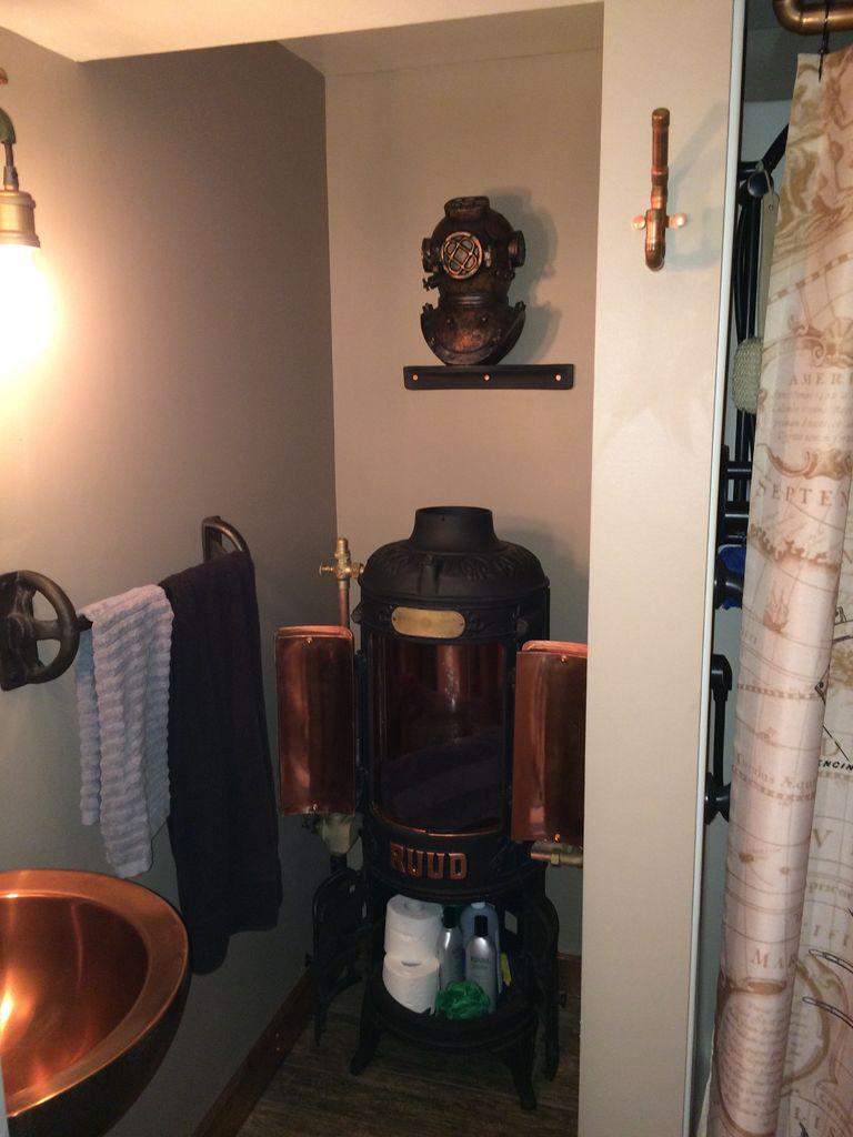 Fantastic steampunk bathroom