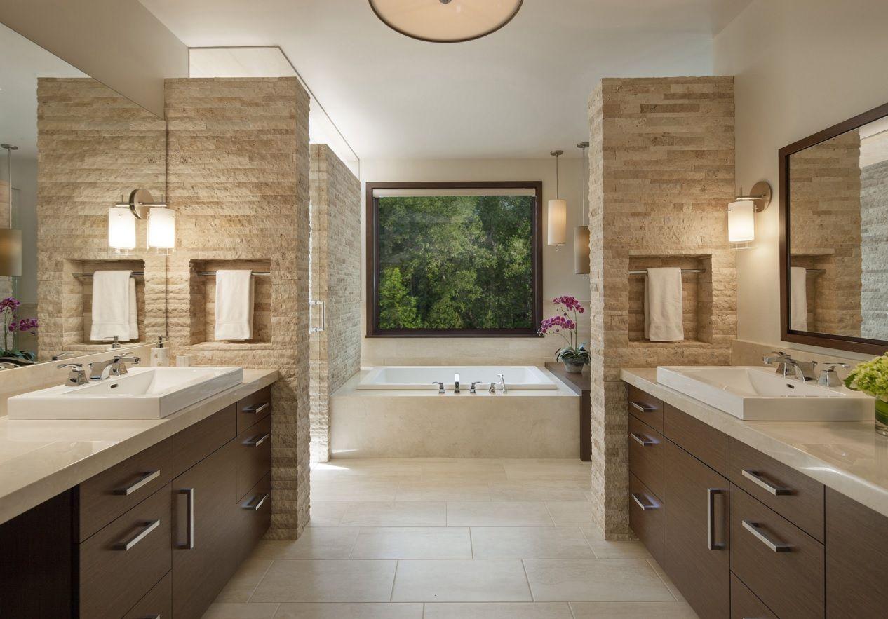 Charming office bathroom