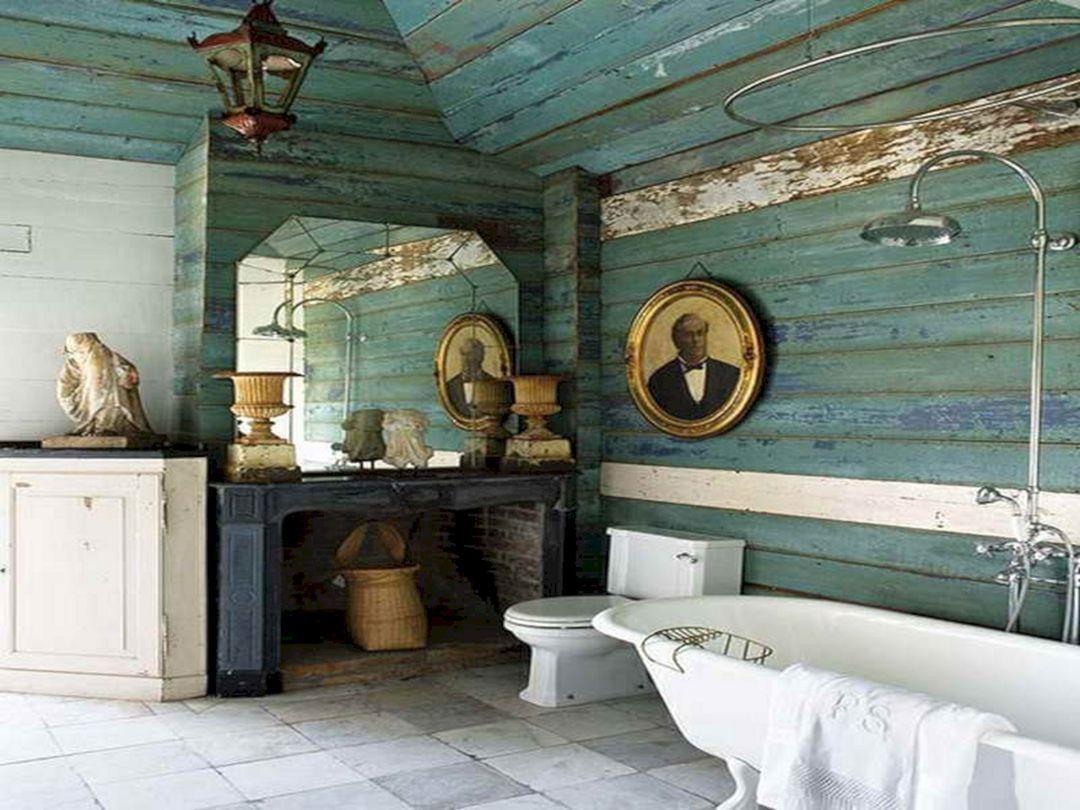 Natural coastal bathroom