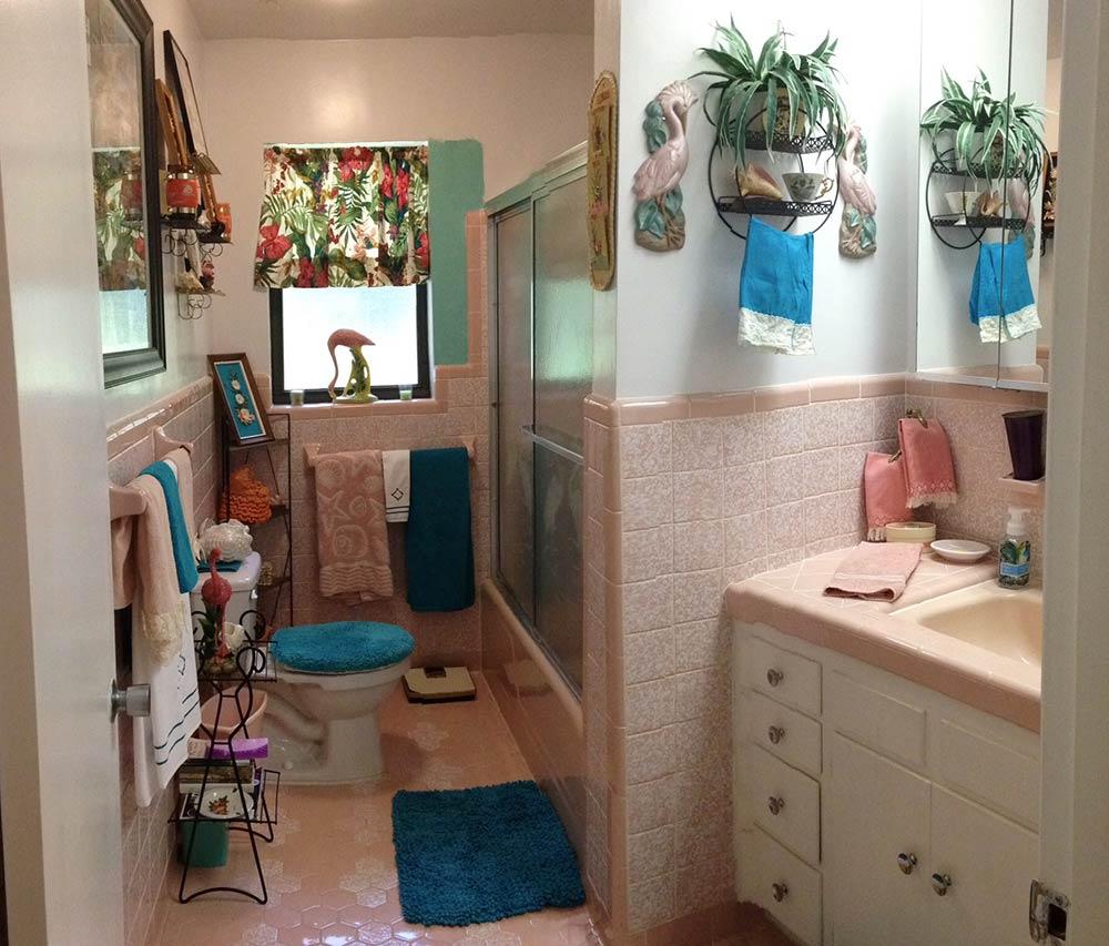 Smart bathroom in the dormitory