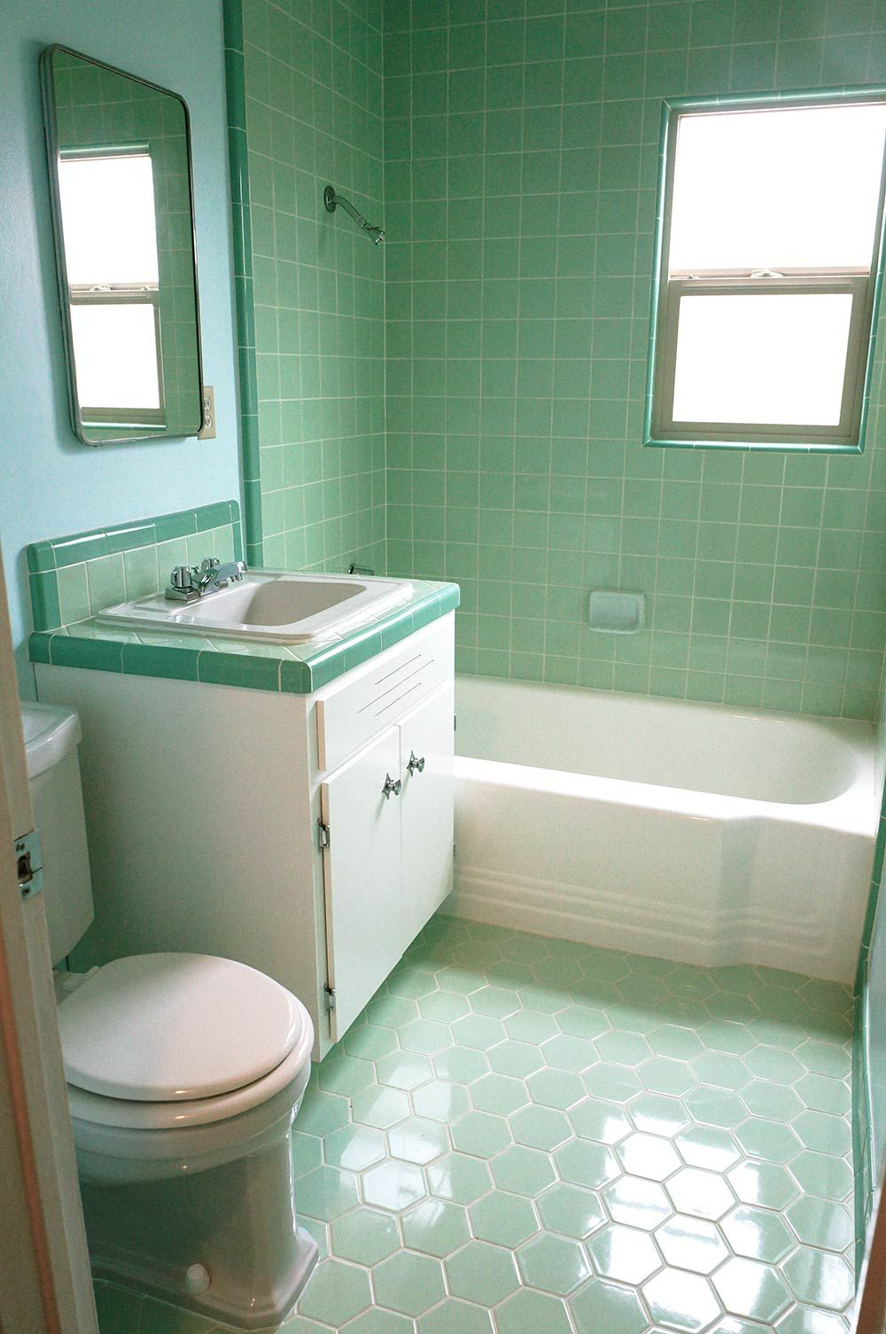 Soft bathroom in the dormitory