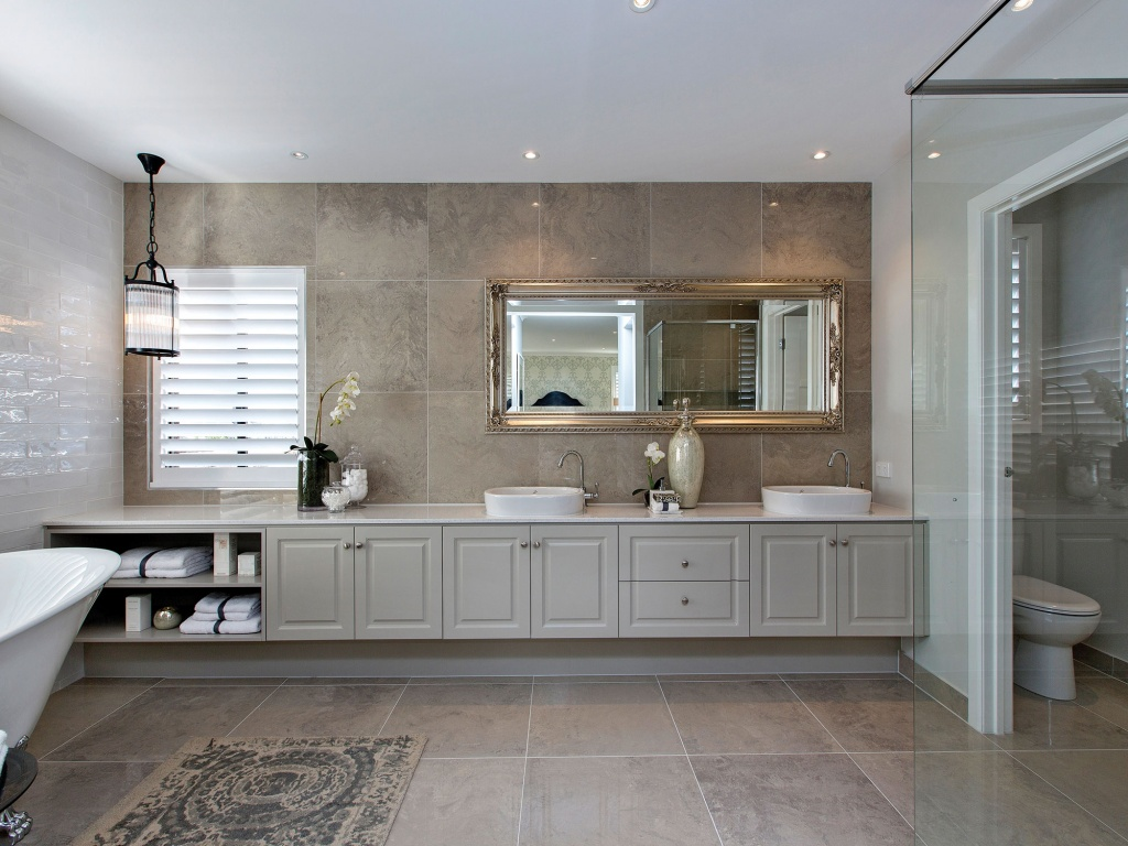 In the mood for large bathrooms