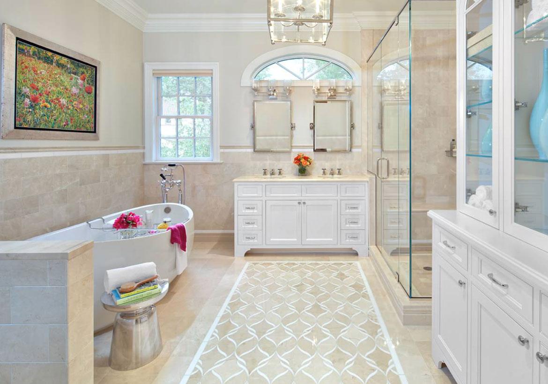 Gorgeous bathroom floors