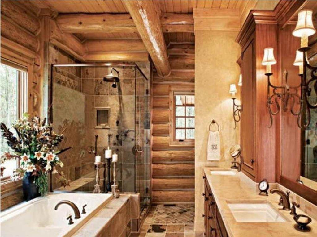 Graceful western bathroom