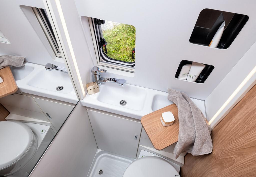 Cool RV bathroom
