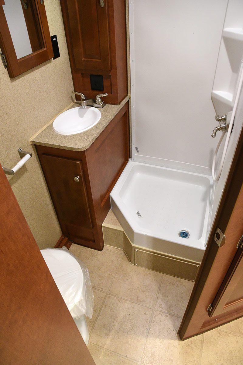 Wonderful RV bathroom
