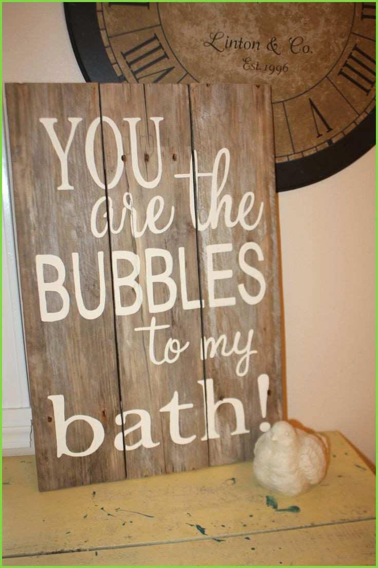 Sweet bathroom sign