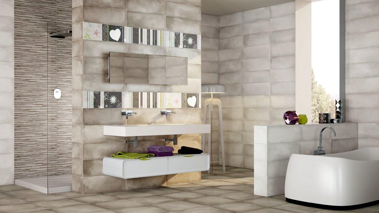 Creative bathroom wall