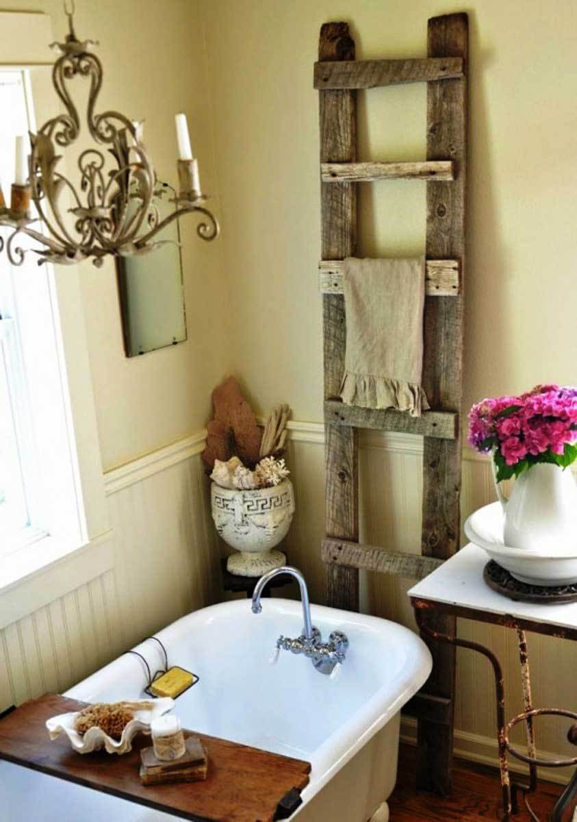 Remarkable shabby chic style bathroom