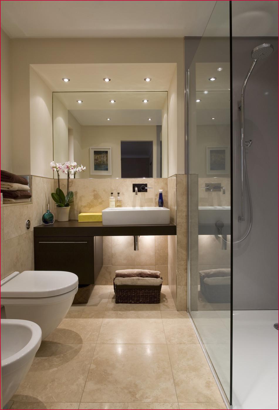Elegant beige bathroom