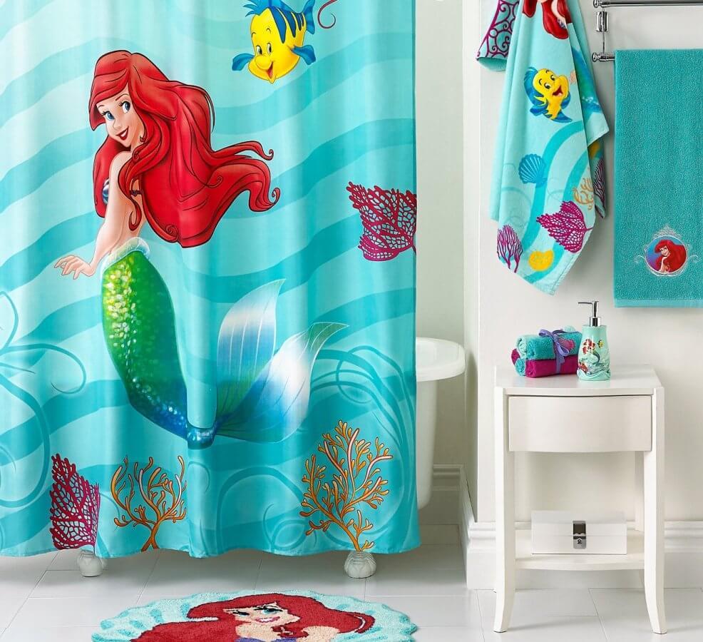 Light mermaid bath