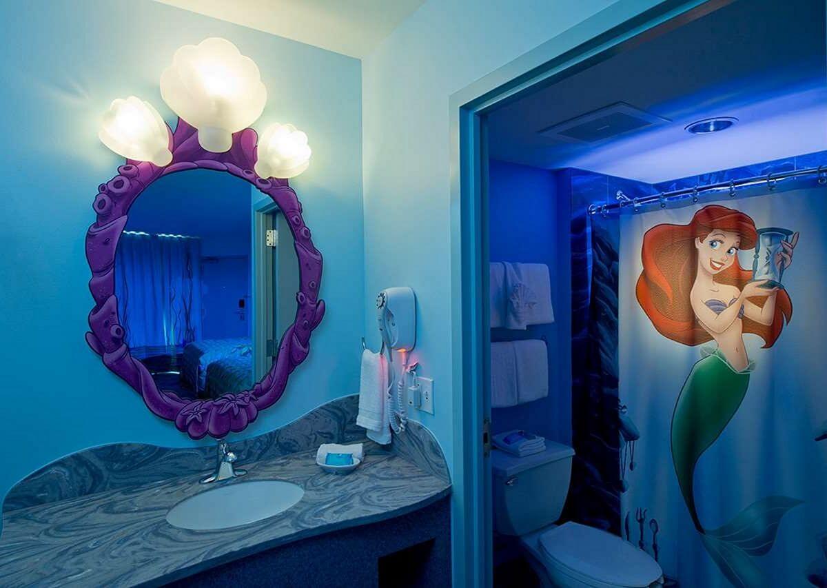 Twilight mermaid bathroom
