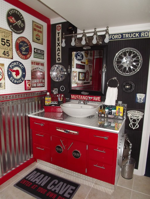Great garage bathroom