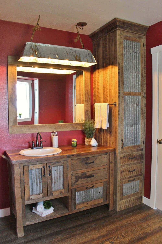 Inexpensive artisanal bathroom