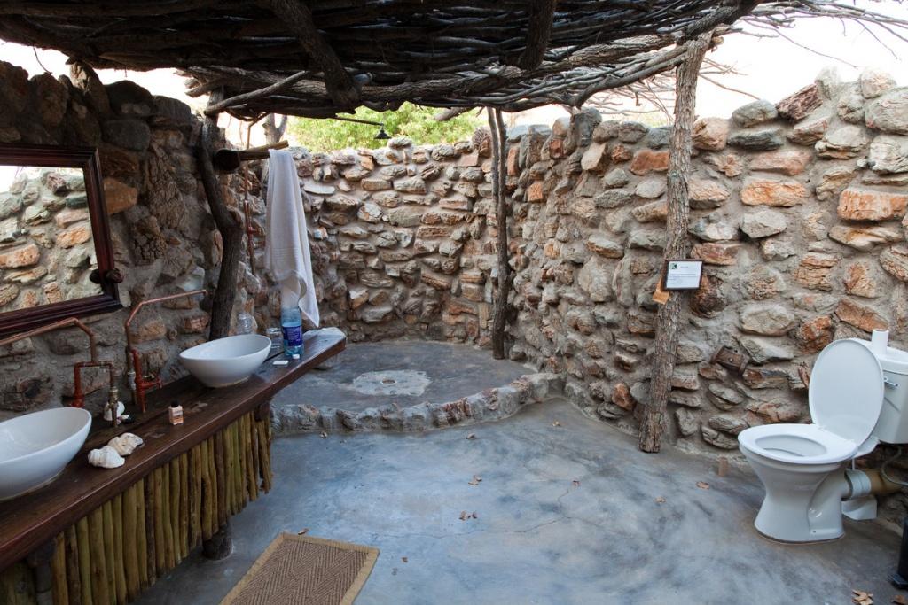 Fantastic outdoor bathroom