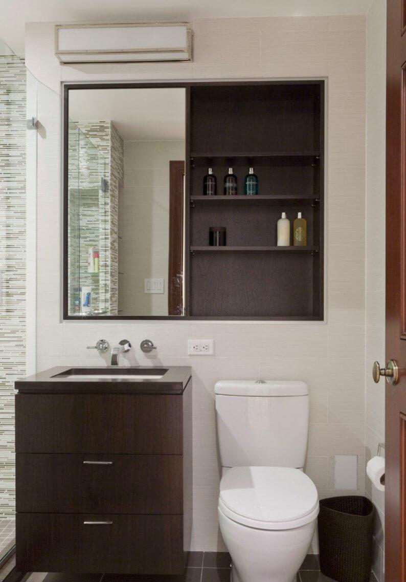 Cozy garage bathroom