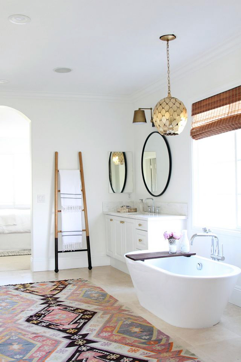 Fine boho bathroom