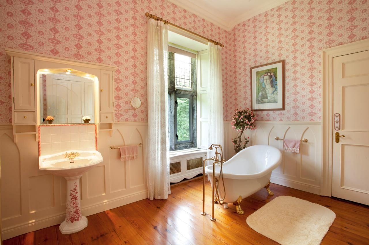 Beautiful bathroom cladding